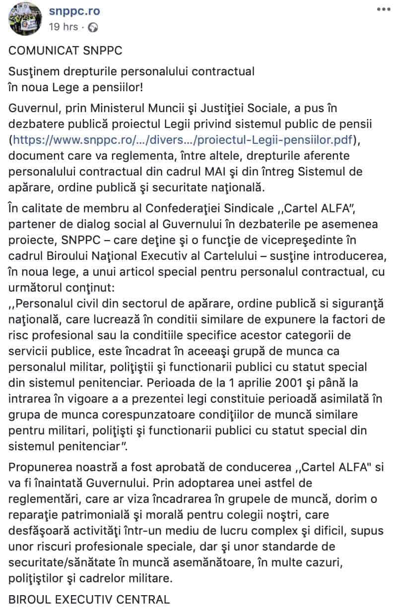Propunere SNPPC recuperare grupa de munca personal civilPropunere SNPPC recuperare grupa de munca personal civil