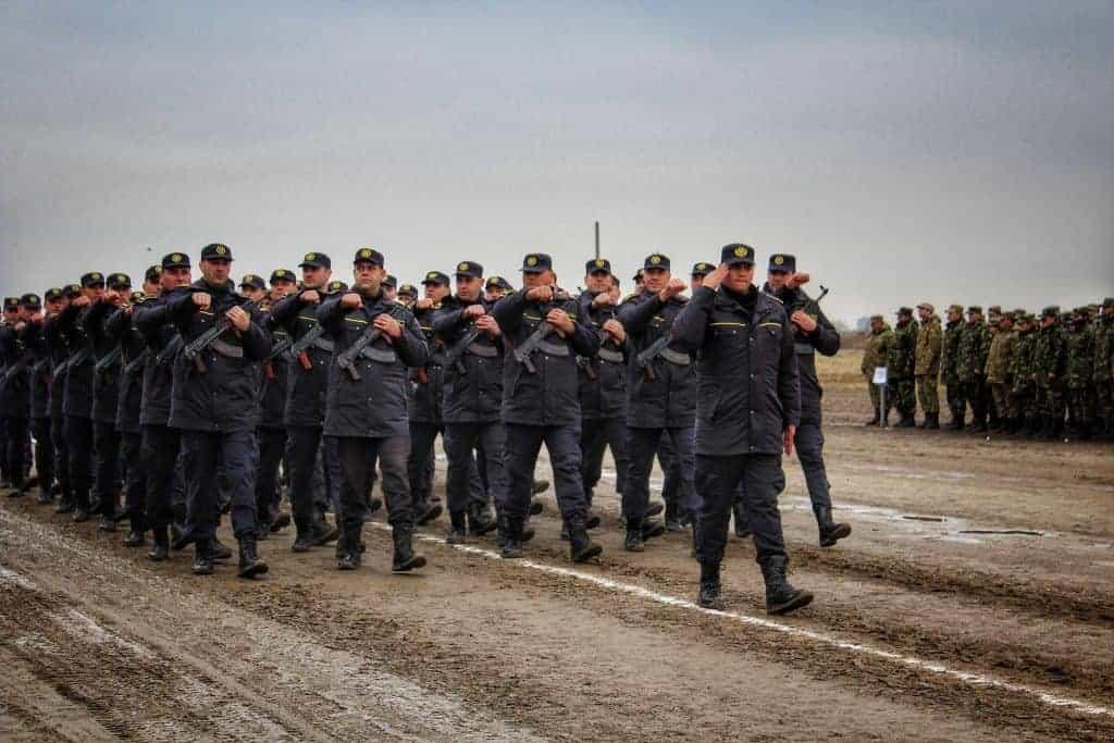 Pregatiri pentru Parada Militara Nationala de Ziua Romaniei