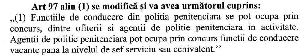 Comisia de aparare, ordine publica si siguranta nationala - Statut politisti de penitenciare