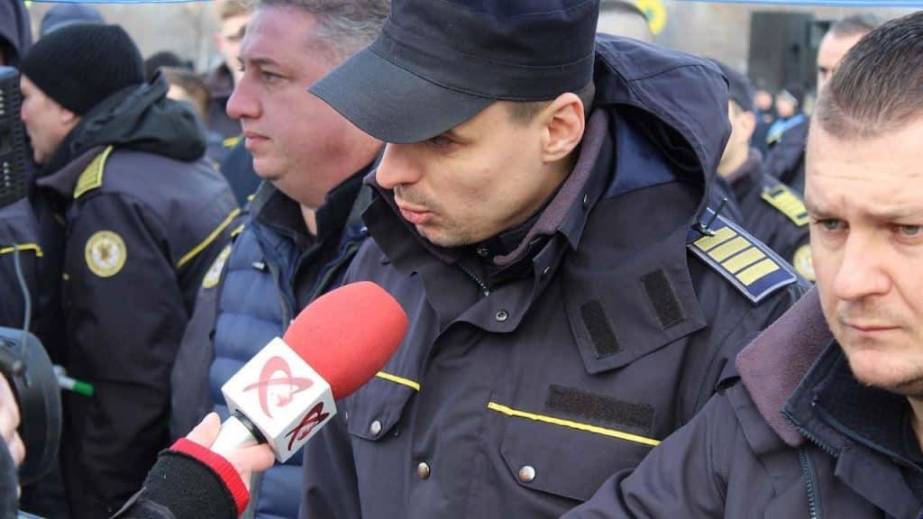 Actiune de protest ale politistilor, personalului din penitenciare si ale rezervistilor militari, Parlamentul Romaniai 08 februarie 2019 (4)