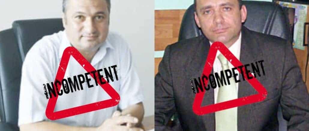 Management prin incompetență, cazurile Târgu Jiu și Buziaș