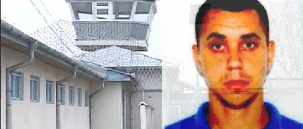 Deținut de la Penitenciarul Mioveni evadat din spital