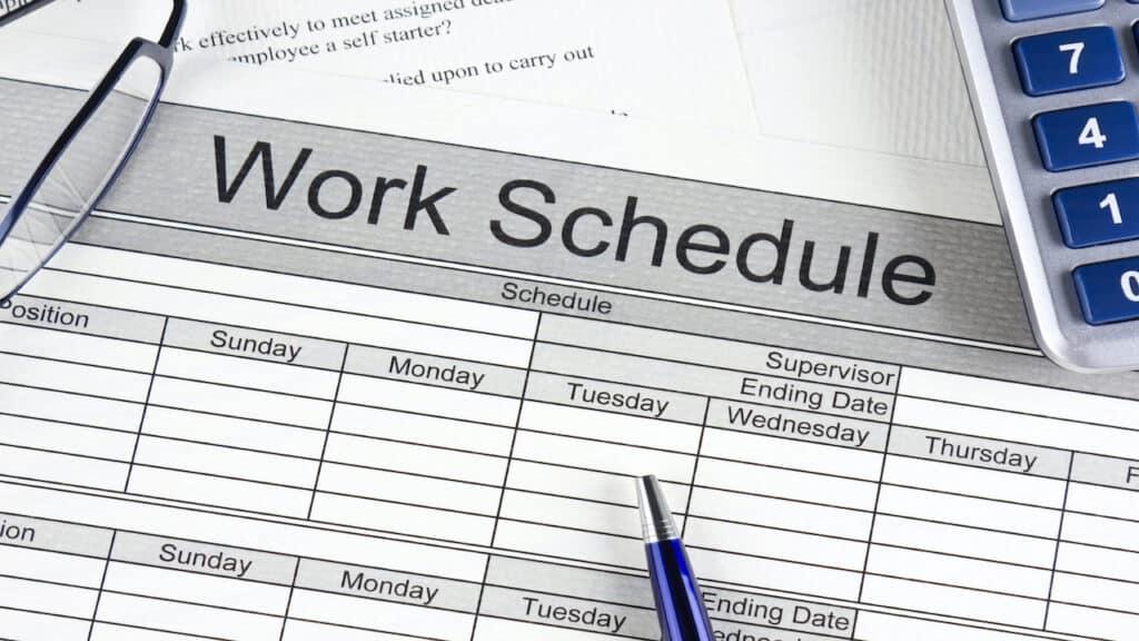 ANP, propuneri de modificare preventivă a programului de lucru