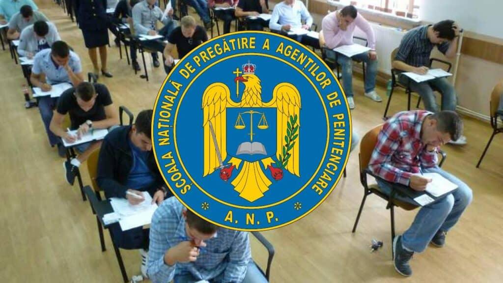 Graficul privind admiterea la Școala de Agenți de Penitenciare, pe site-ul ANP